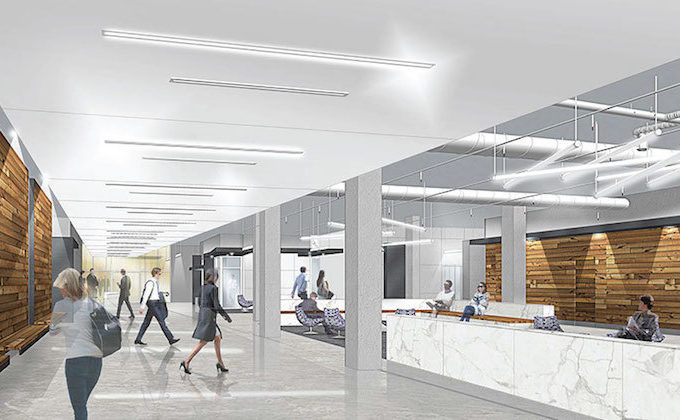 """""""More than an address,"""" 1776 Peachtree is one of several office projects in progress. (Image courtesy of 1776Peachtree.com)"""
