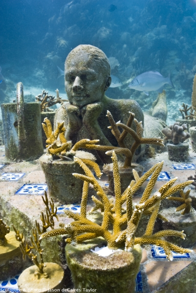 Cancun's Underwater Art Museum