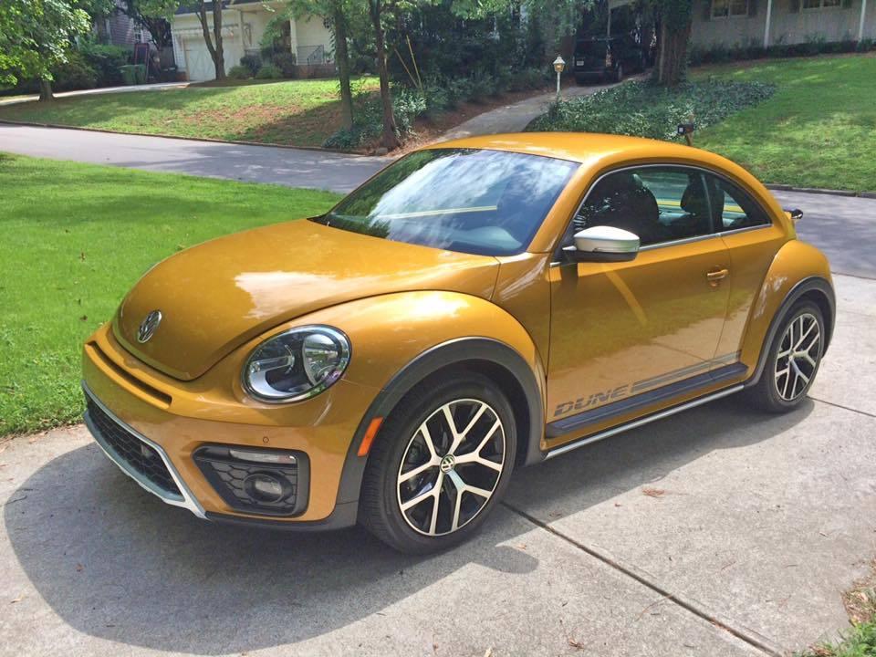 The 2016 Volkswagen Beetle